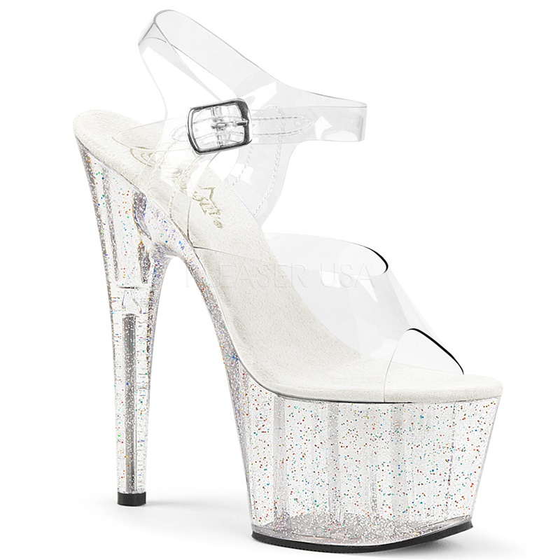 ADORE-708 MG | Pexy paaldans schoenen met glitters | Sexyhogehakken