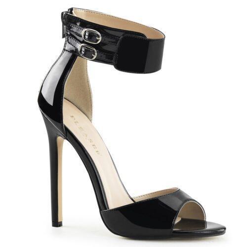 SEXY-19 | Sexy sandaal met enkelband en hoge hak